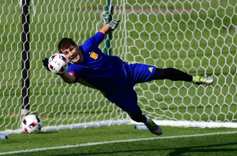 Iker Casillas (AFP PHOTO / PIERRE-PHILIPPE MARCOU)