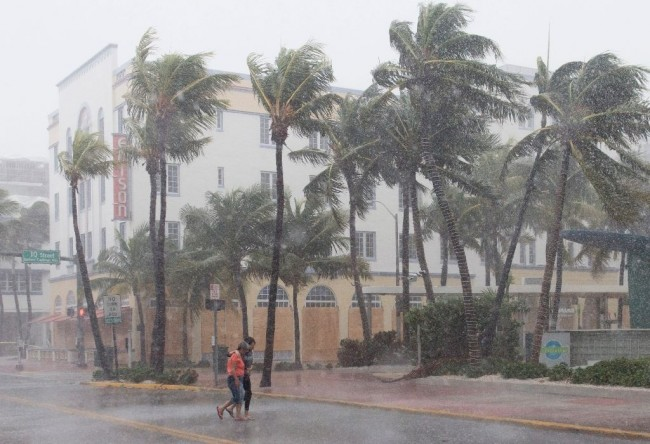 Fierce Hurricane Irma Slams into Florida Keys