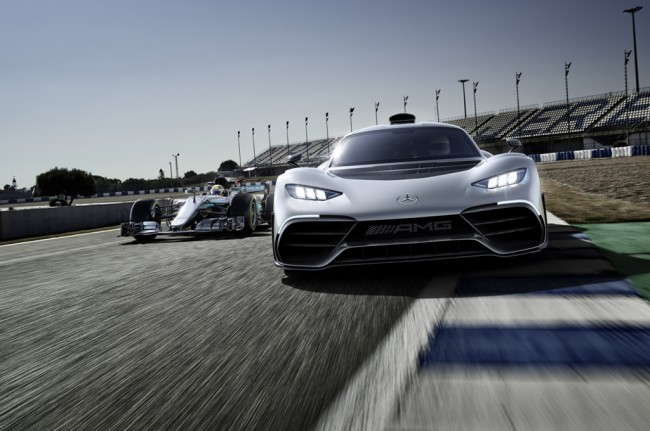 Mercedes-AMG Project One, <i>Hypercar</i> Berteknologi F1