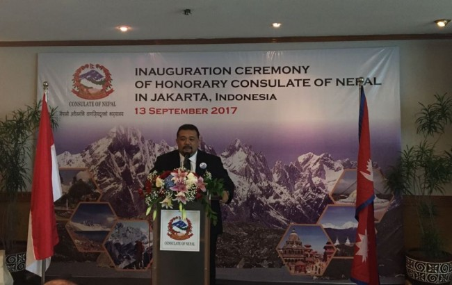Nepal Opens Honorary Consulate for Indonesia in Jakarta