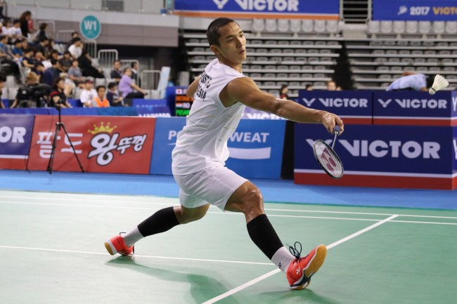Jonatan Ciptakan All Indonesian Final di Korea Open 2017