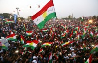 Iraqi Kurds Push Ahead with Referendum to Pressure Baghdad