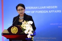 FM Retno Promotes Indonesia's Candidacy as UN Security Council Member