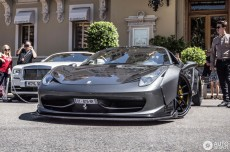 Ferrari 458 Pasang <i>Wide Body</i> ala Liberty Walk