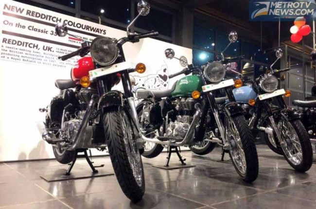 Royal Enfield Tantang Builder Adu Konsep Modifikasi
