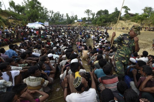 UN Hikes Rohingya Exodus Number to 480,000