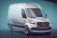 Mercedes-Benz Sprinter Baru Makin Boxy