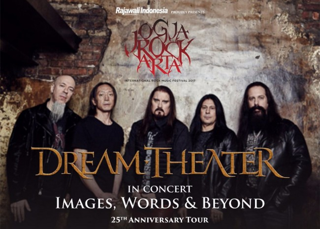 Dalam Tur Images Words and Beyond, Indonesia jadi Destinasi Spesial Dream Theater