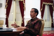 Jokowi to Attend 72nd Anniversary of TNI
