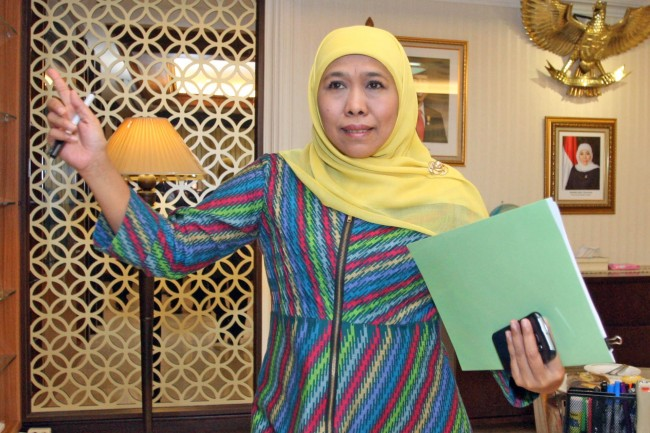 I Will Resign when Becoming East Java Governor Candidate: Khofifah