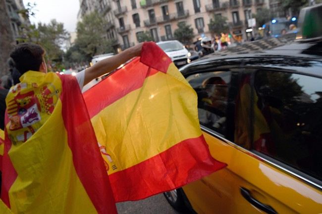 Worried, Catalans Against Independence Wonder What Next