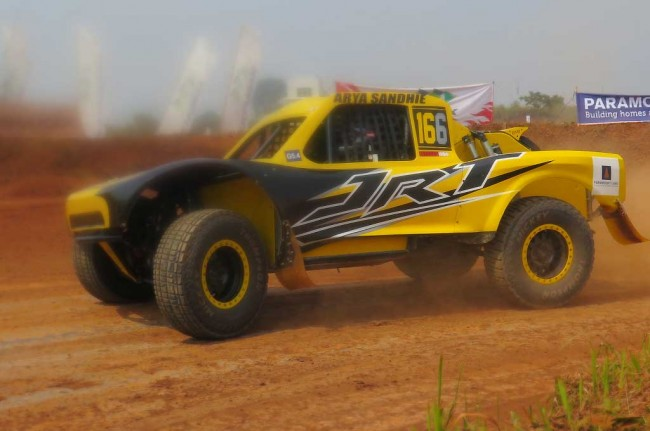 Speed Offroad dan Sprint Rally, 'Garuk' BSD City