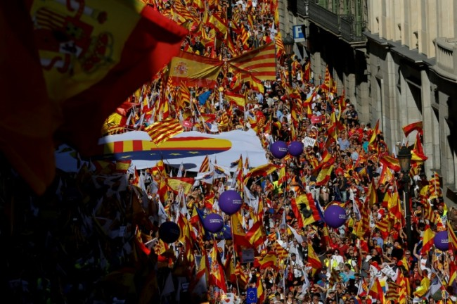 Pressure Mounts on Catalan Separatists after Unity Rallies