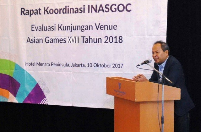 Jelang Asian Games, Rakor Soroti Venue Squash dan Mountain Bike