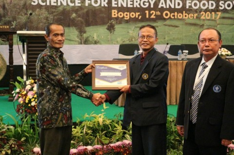 Kepala BKP Kementan Agung Hendriadi pada 1st International Conference on Applied Science for Energy and Food Sovereignty di IPB. (Dok: Kementan)