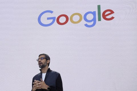 CEO Google, Sundar Pichai. (AP Photo/Eric Risberg, FILE)