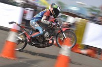 Gerry Juara di Drag Bike Pertamax 2017