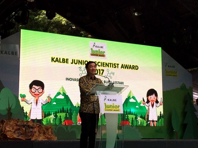Kalbe Umumkan Pemenang Karya Sains Kalbe Junior Scientist Award 2017