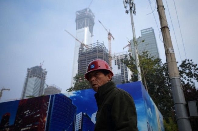China's Economic Growth Slows in Q3 but on Course to Beat Target