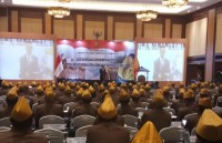 Jokowi Attends LVRI Congress