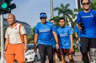 Sandi Mulai Laksanakan Gerakan 'Run to Work'
