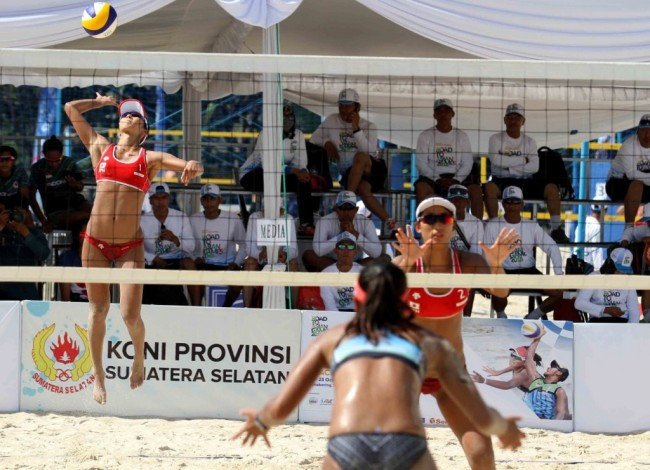 Venue Voli Pantai JSC Dinilai Layak Gelar Asian Games 2018
