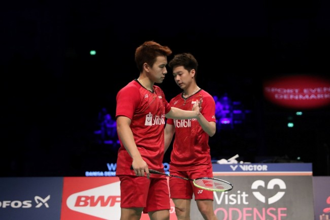 Marcus/Kevin Absen di French Open 2017