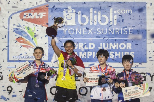 Indonesia Juara Umum BWF World Junior Championships 2017