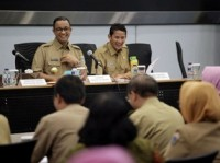 Anies-Sandi ke Kodam Jaya Bahas Asian Games