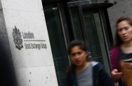 Indeks FTSE-100 Bursa London Naik Tipis