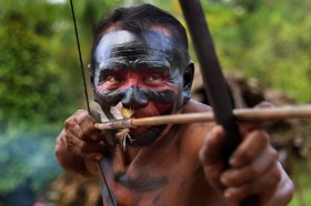 Tribe Sharpens Arrows against Amazon Invaders