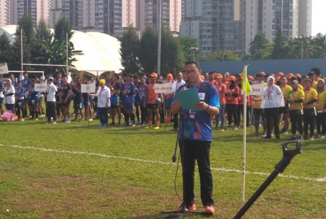 Test Event Rugby 7s Dipantau Perwakilan Rugby Asia