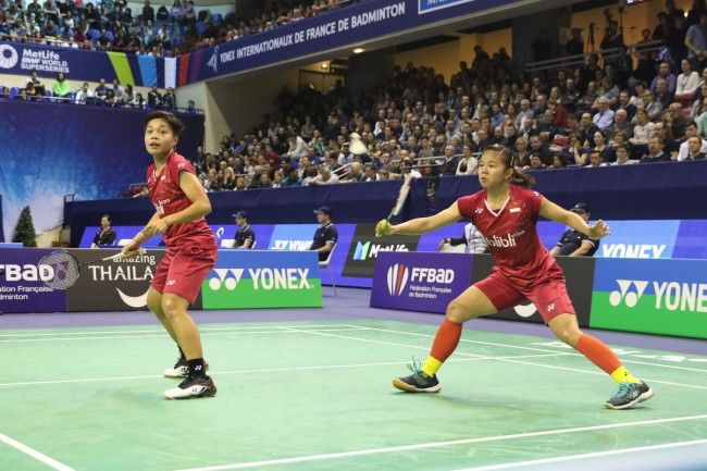 Greysia/Apriani Juarai French Open 2017