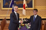 NATO Chief Calls North Korea 'Global Threat' during Japan Visit