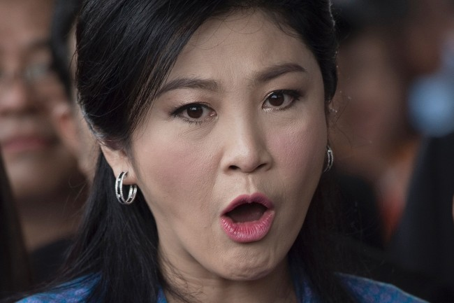 Thailand Revokes Passports of Exiled Former PM Yingluck