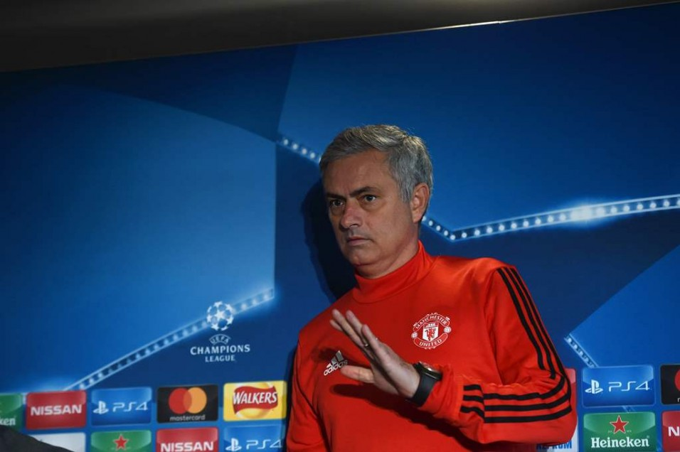 Jose Mourinho. (Foto: AFP/Paul Ellis)