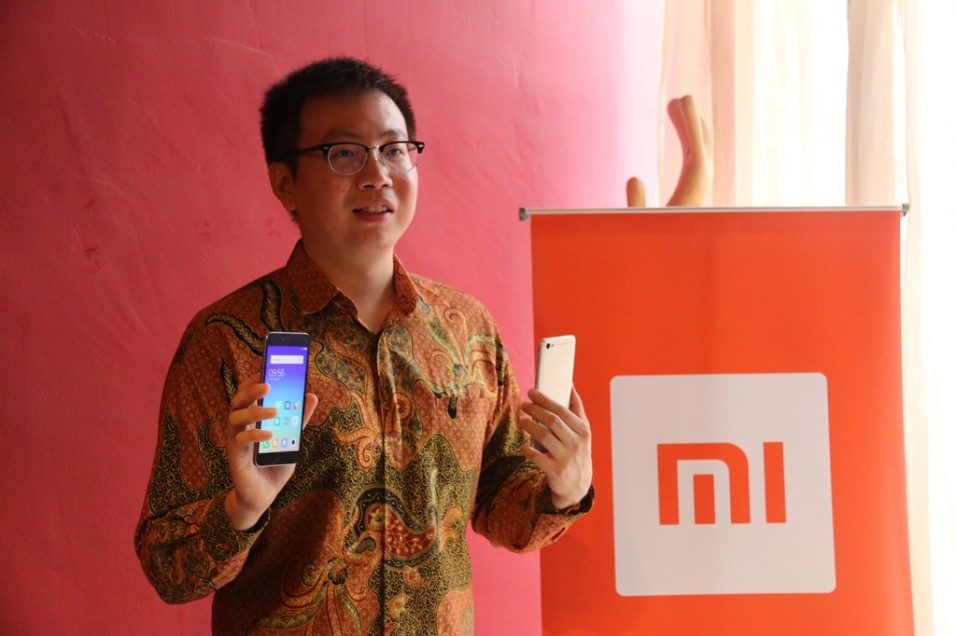 Head of Xiaomi South Pacific Region and Xiaomi Indonesia Country Manager Steven Shi.