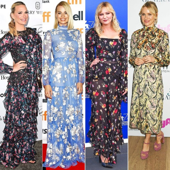4 Inspirasi Floral Dress ala Selebriti Hollywood