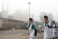 Schools Shut as Toxic Smog Hits Delhi