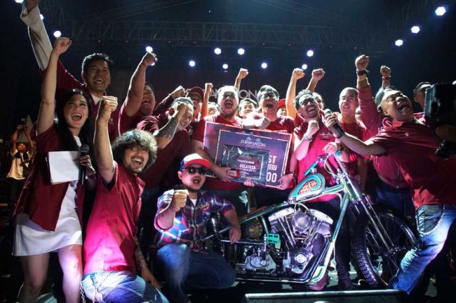 Traditional Chopper ini Gondol Titel 'Greatest Bike SM 2017'