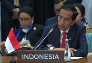 Jokowi Highlights Rakhine Crisis in ASEAN Summit