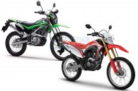 Adu Spek Trail 150cc, CRF150L VS KLX 150BF