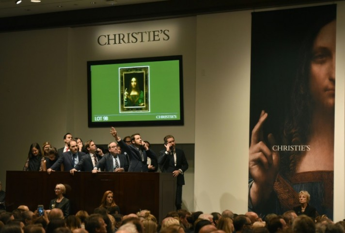Da Vinci Painting of Christ Sells for Record $450 Million