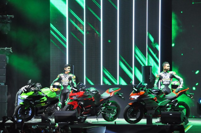 All New Kawasaki Ninja 250 Mengaspal di KBW