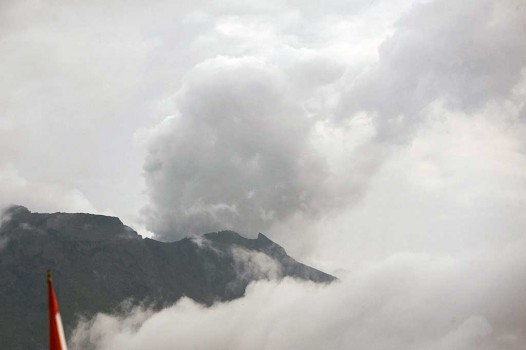 Gunung Agung Masih Level Siaga