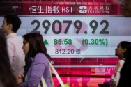 Asian Investors Moved Warily After a Sharp Sell-off in Shanghai