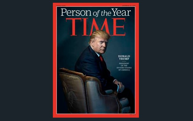 Trump Tolak Predikat 'Person of The Year' Majalah TIME