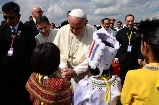 Pope Arrives in Myanmar on High-Stakes Visit
