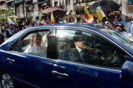 Pope to Meet Myanmar's Leader Suu Kyi