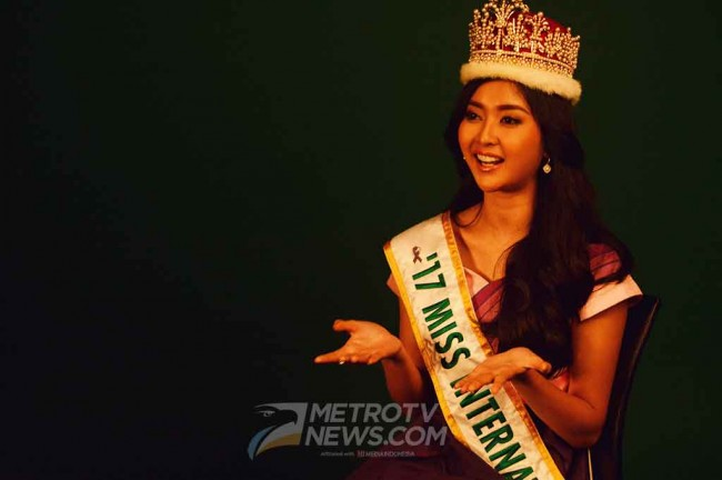 Cerita Lucu Kevin Liliana di Malam Final Miss International 2017